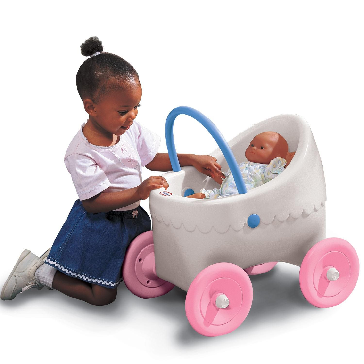 Classic Doll Buggy Little tikes, Tikes toys, Little girl