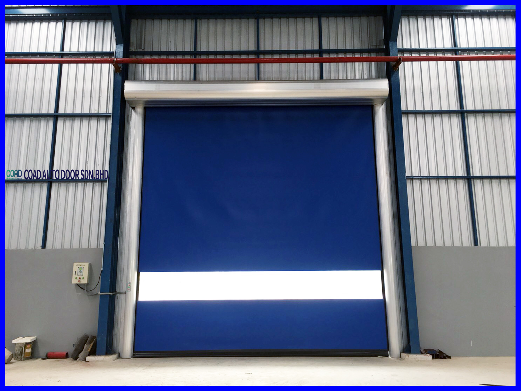 A Lower Cost Option For Speed And Efficiency Coad In 2020 Automatic Door Doors Efficiency