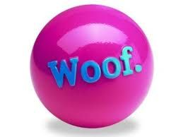 Fetch that ball and love the Orchid, Pantone's color of the year! Your dog will play in style.
