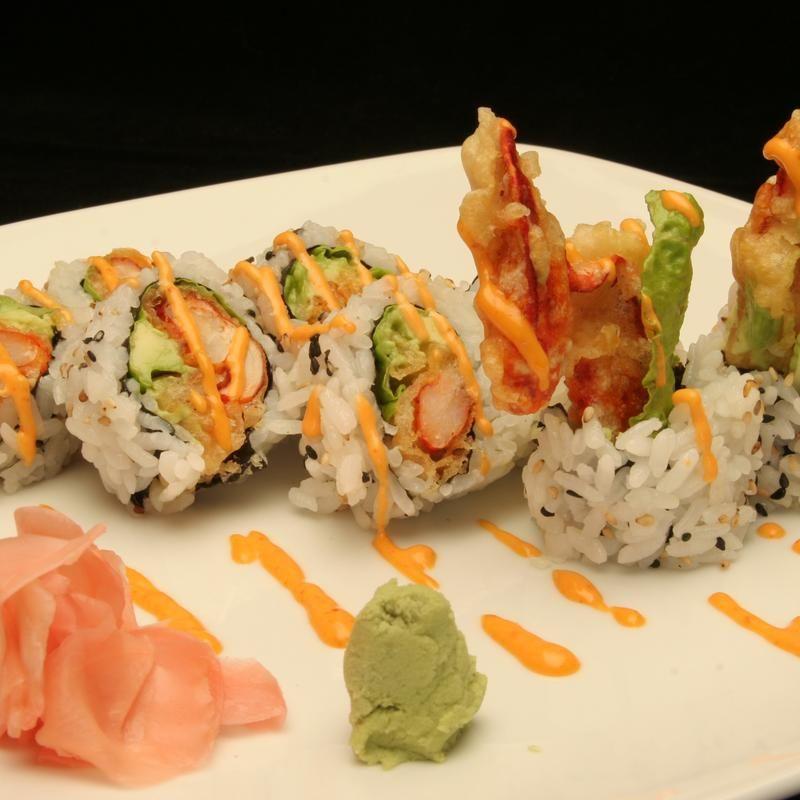 Crunchy Shrimp And Crab Roll Sushi Hana Zmenu The Most Comprehensive Menu With Photos Crab Sushi Roll Lobster Sushi Roll Sushi Roll Recipes
