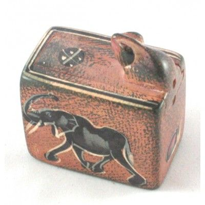 Snake Box Hand crafted in Kenya from Soapstone