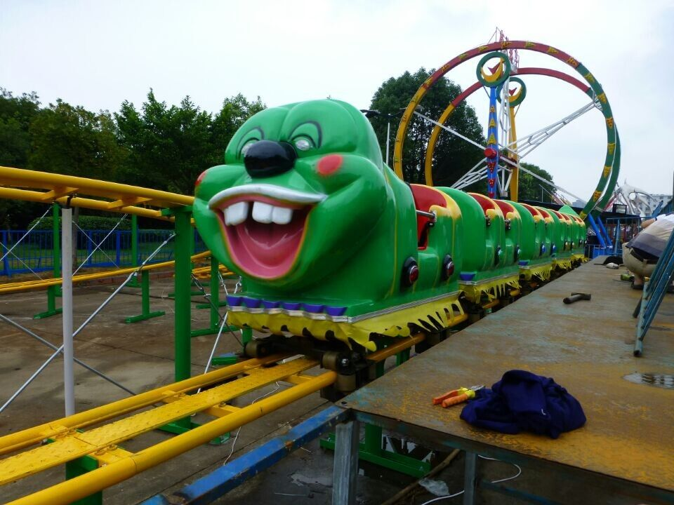 You Can Buy Best Quality Roller Coaster For Sale   Small Thrill Kiddie Rides  With Lower Prices In Beston. Various Mini Roller Coasters.