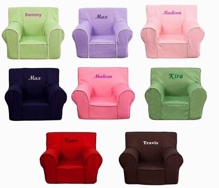 Attirant Compact Kids Personalized Foam Arm Chairs Kids Chairs   Hair Styles