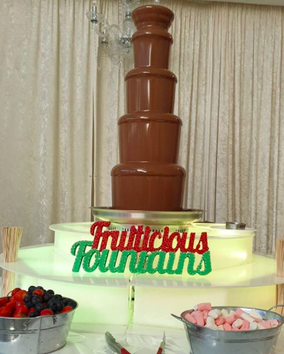 Fruiticious Fountains #chocolatefountainfoods