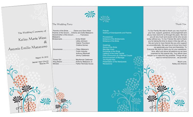 wedding tips wedding brochures wedding ideas wedding programs
