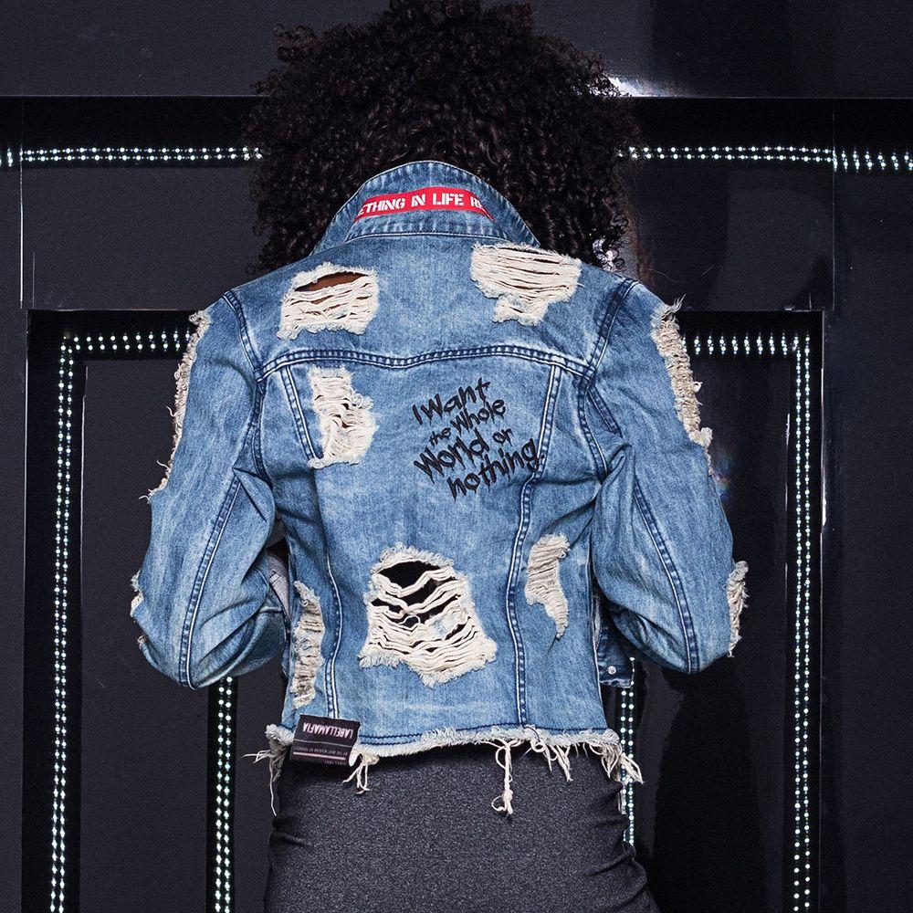 79946d85f3 Jaqueta Jeans Destroy @ Labellamafia - Labellamafia | de jeans ...