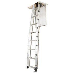Televator Universal Telescoping Attic Ladder 8 Foot 225 Attic Ladder