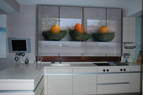 estores enrollables para cocina decoracin hogar ideas y cosas bonitas para decorar el hogar - Estor Cocina