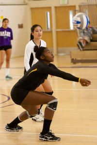 College Volleyball Outside Hitter Jones Ready To Help Dominican Women S Team Start Piling Up Some Wins Dominican Women Volleyball Coaching Volleyball