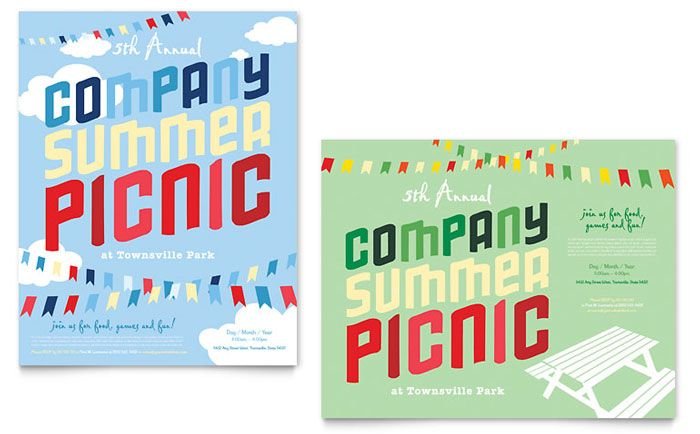 summer camp Graphic Design  Ideas, Inspiration + Resources by - free poster template word