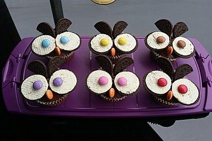 Eulen Cupcakes (Rezept mit Bild) von alochte | Chefkoch.de