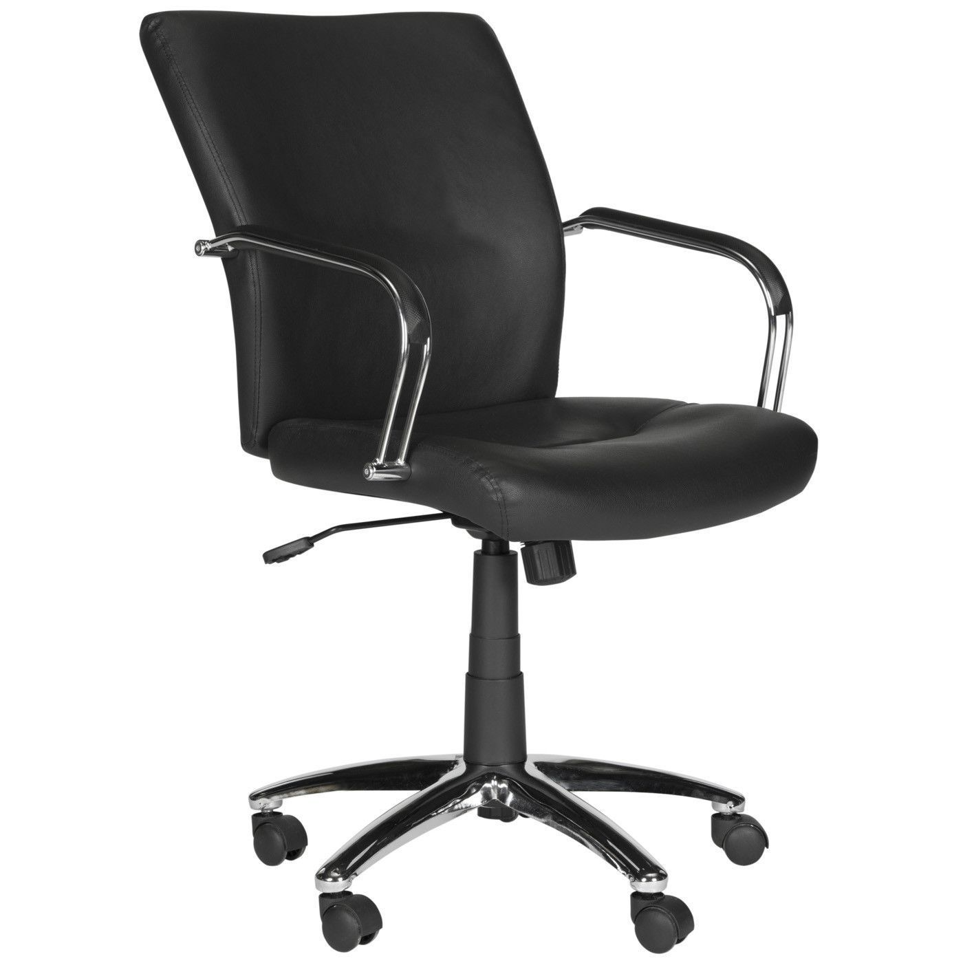 Lysette Desk Chair Black Best Office Chair Office Chair Rolling Desk Chair