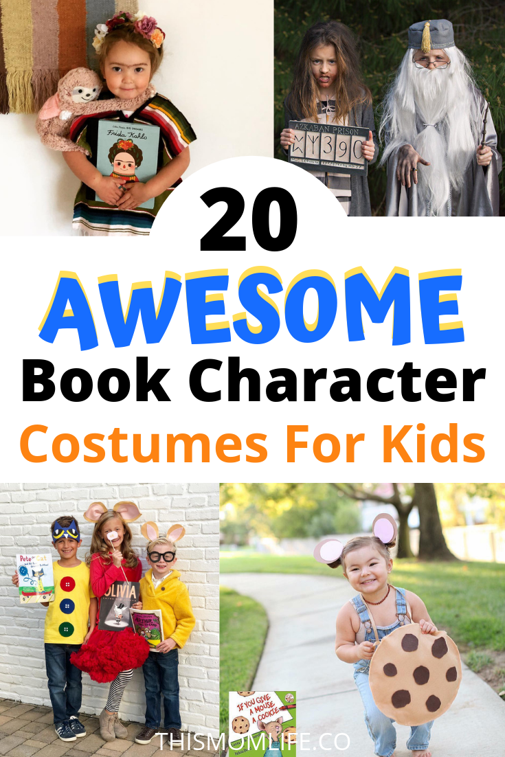 20 Awesome Book Character Costumes That You Can Diy For Literacy Week At Scho Kids Book Character Costumes Book Character Costumes Boys Book Character Costumes