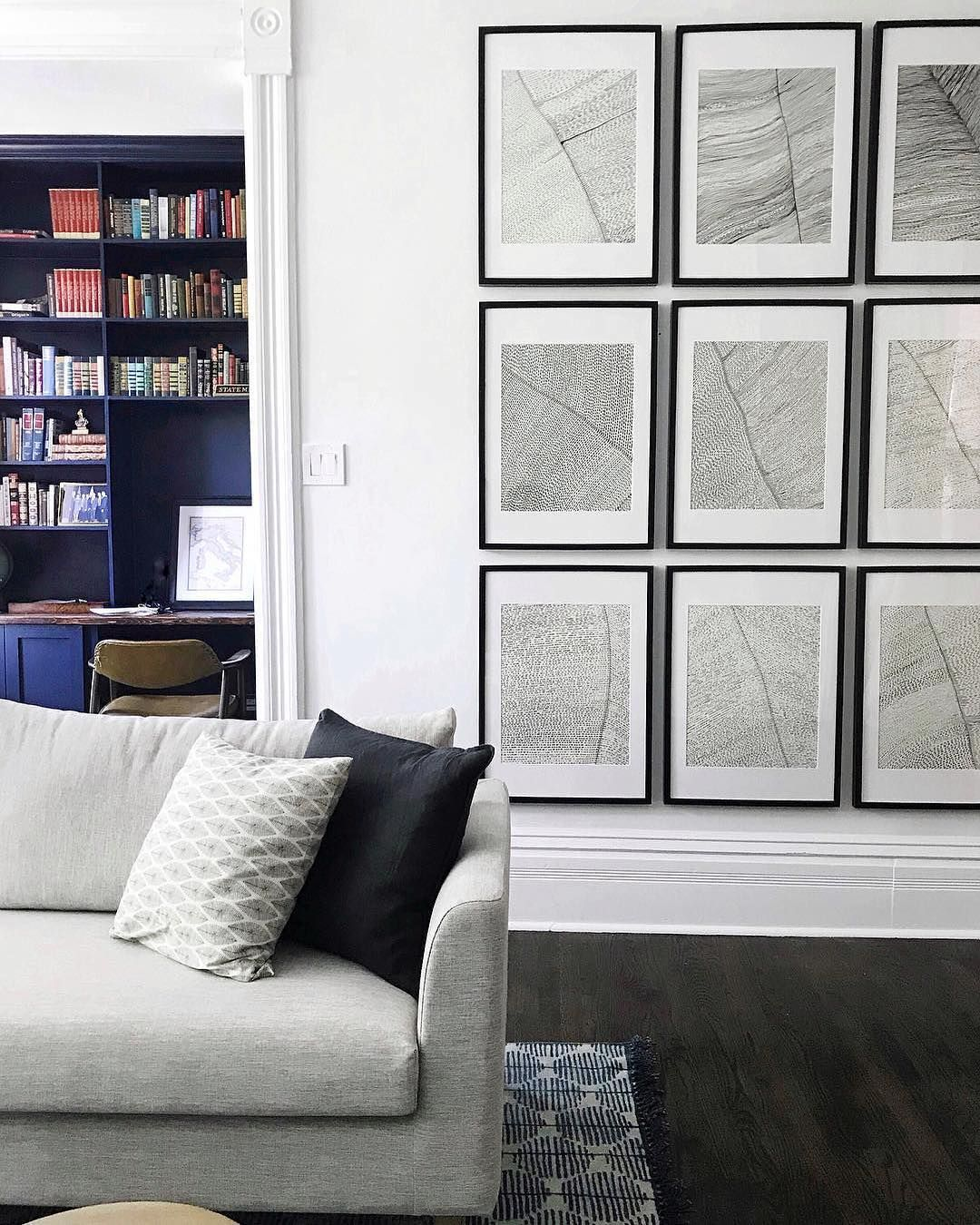 "Interior Define on Instagram: ""Coordinating your wall art ..."