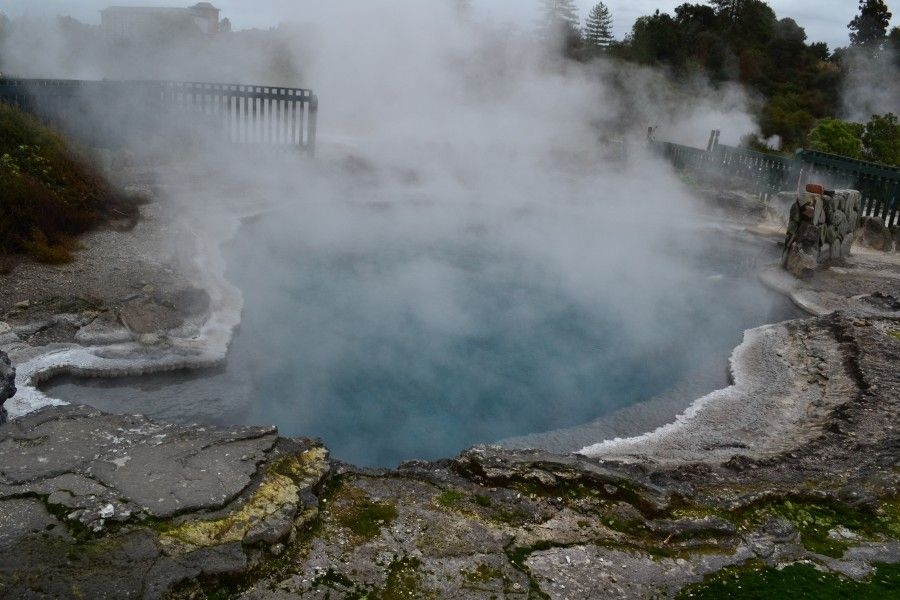 Thermal Village in Rotorua, New Zealand