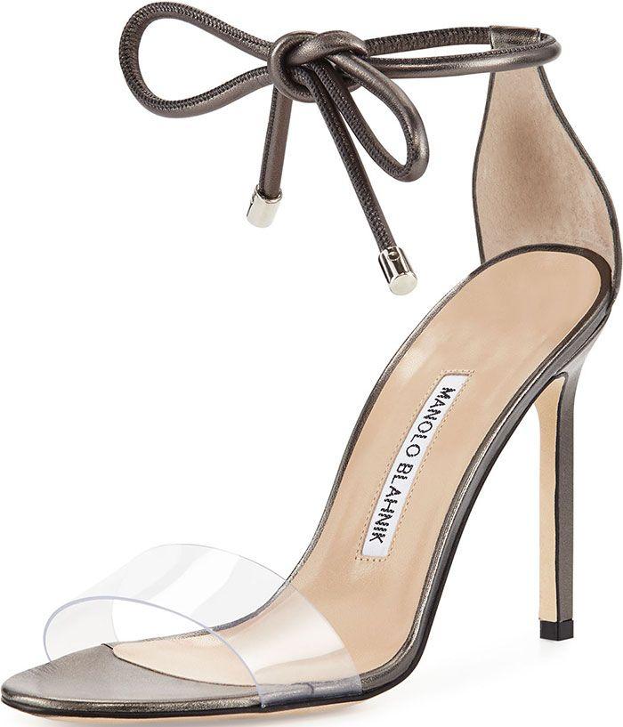 21d069f006 Eva Longoria Awarded in Georges Chakra Dress and Manolo Blahnik 'Estro'  Sandals