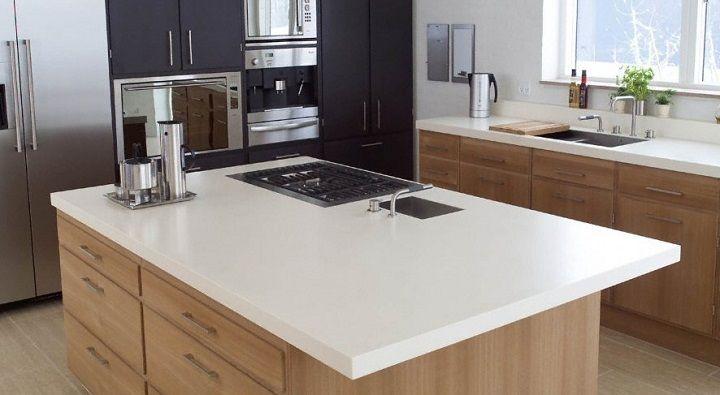 Consejos para cocinas con isla kitchens pinterest for Cocinas pequenas con isla