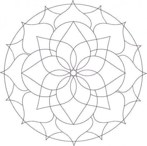 free mandalas design to color
