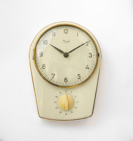 Ceramic Kitchen Wall Clock