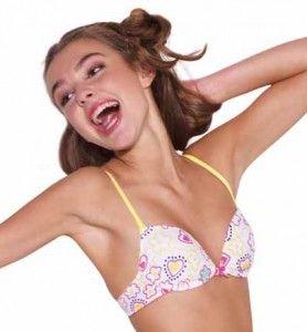 When can kids wear a bra?