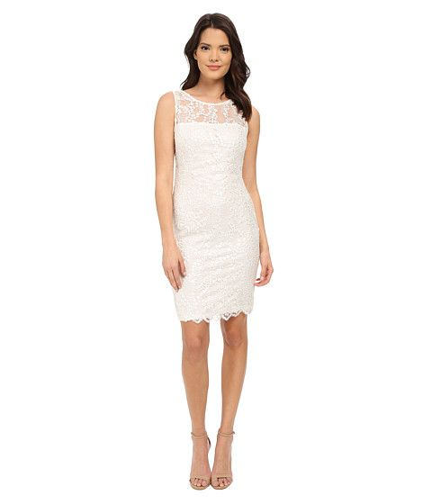 Calvin Klein Wedding Gowns: Calvin Klein Lace Sheath Dress CD5B4M6C