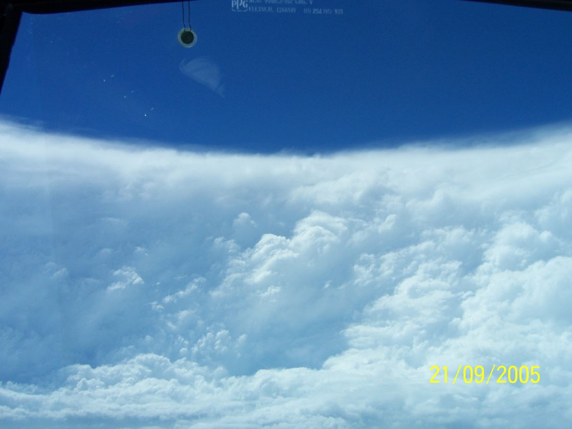 The Eye Of Hurricane Rita Hurricane Rita Hurricane Pictures Extreme Weather