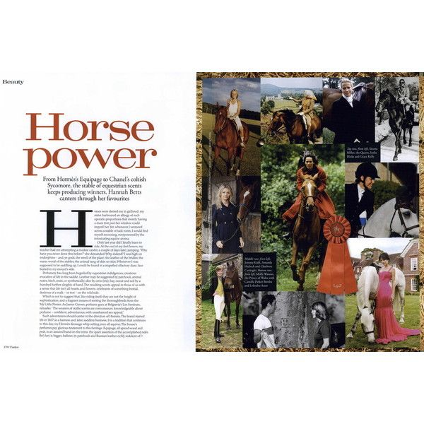 Tatler Editorial Horse Power, November 2010 Shot #1 - MyFDB ❤ liked on Polyvore featuring editorials, text and charlotte casiraghi