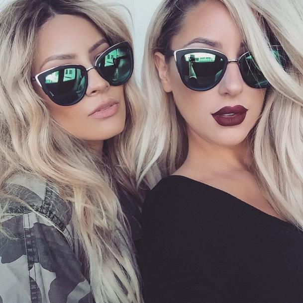 8abf658246c0 ·DESI PERKINS | 'MY GIRLS' Sunnies QUAY AUSTRALIA Mirrored Sunglasses,  Sunglasses