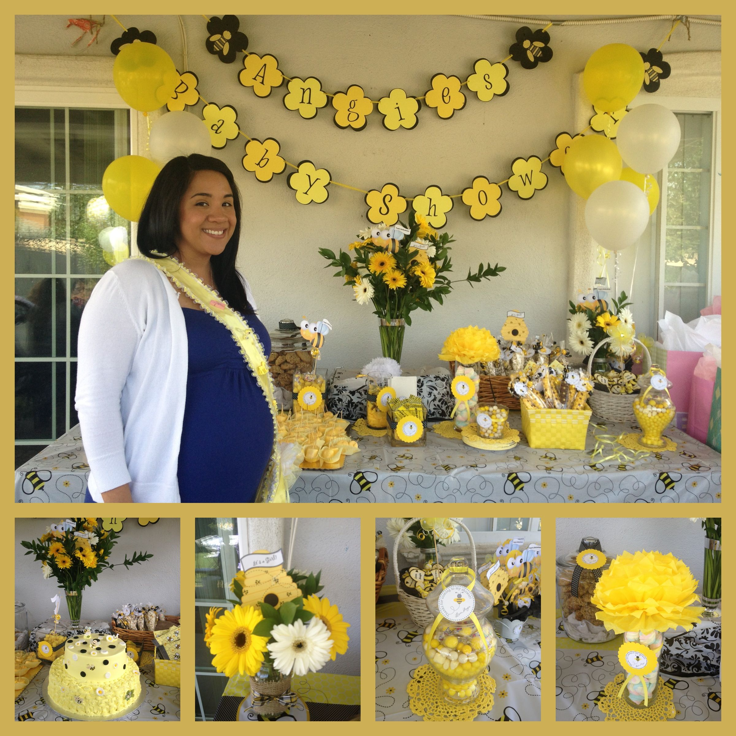 Angies Baby Shower Bee Theme
