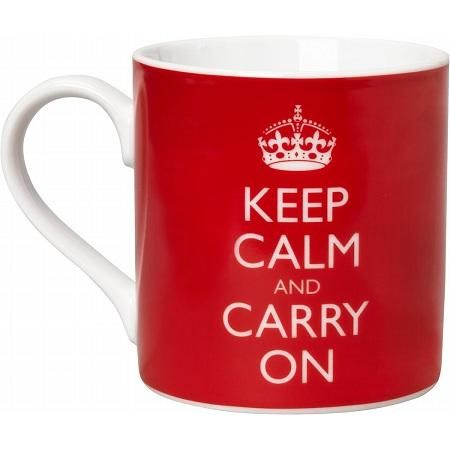 Keep Calm and Carry Mug I should this for work