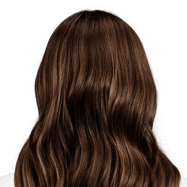 Napoli Brown - Natural deep warm brown hair color with hints of gold.
