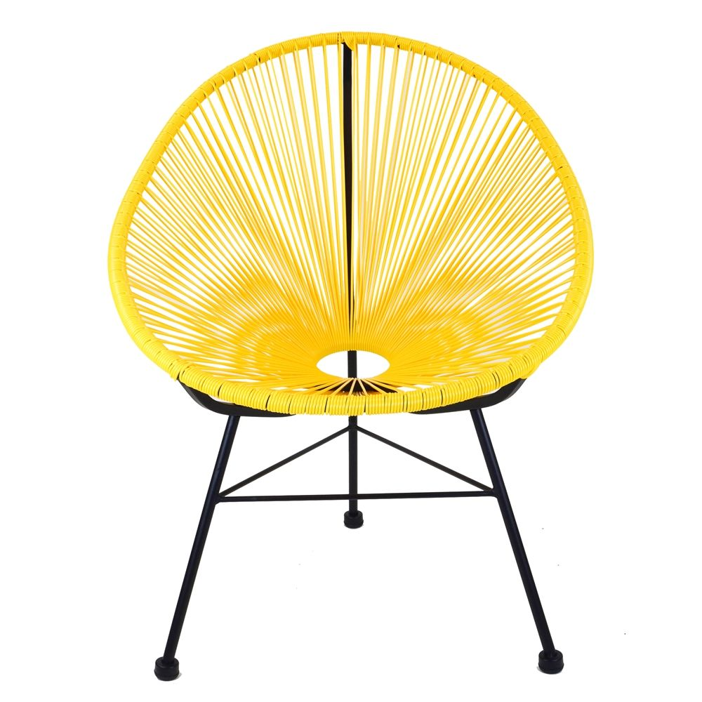 Acapulco lounge chair yellow epie living pinterest acapulco