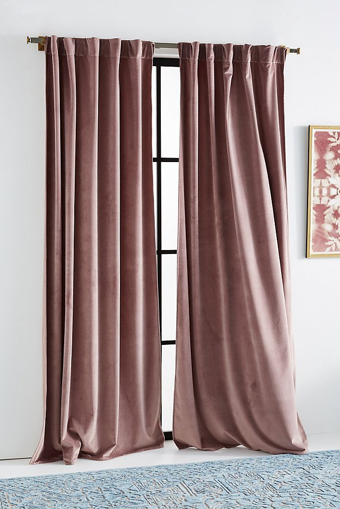 Velvet Louise Curtain In 2020 Curtains Living Room Living Room Decor Curtains Velvet Curtains Bedroom