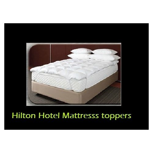 mattress king commercial. hilton hotel airball mattress topper king - downia at home sleepmaker fibre ball luxury as used by hotels commercial