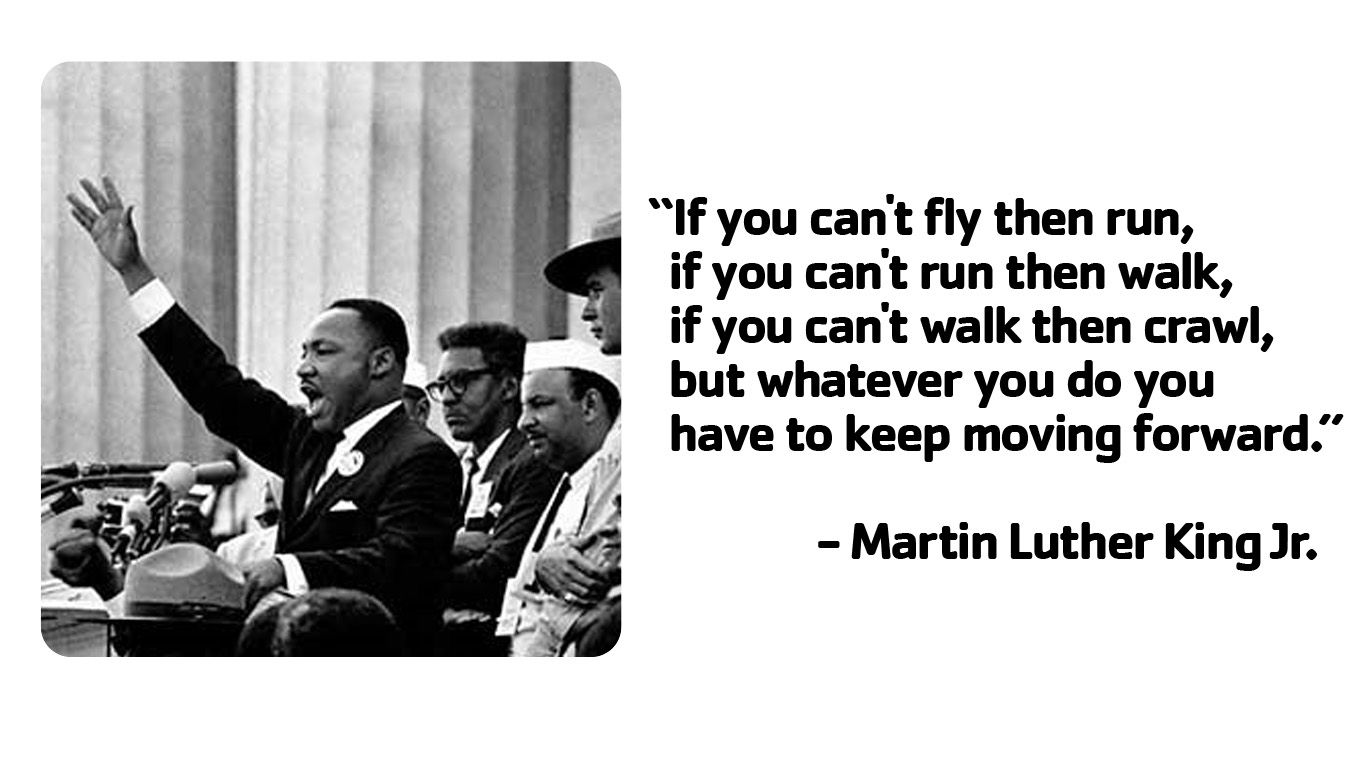 what actions did martin luther king jr take