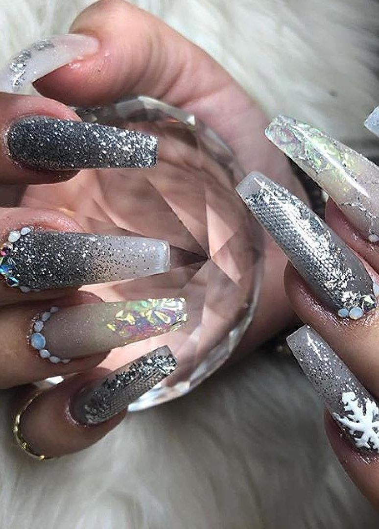 43 Colorful Winter Nail Models And Care Page 13 Of 42 Nails