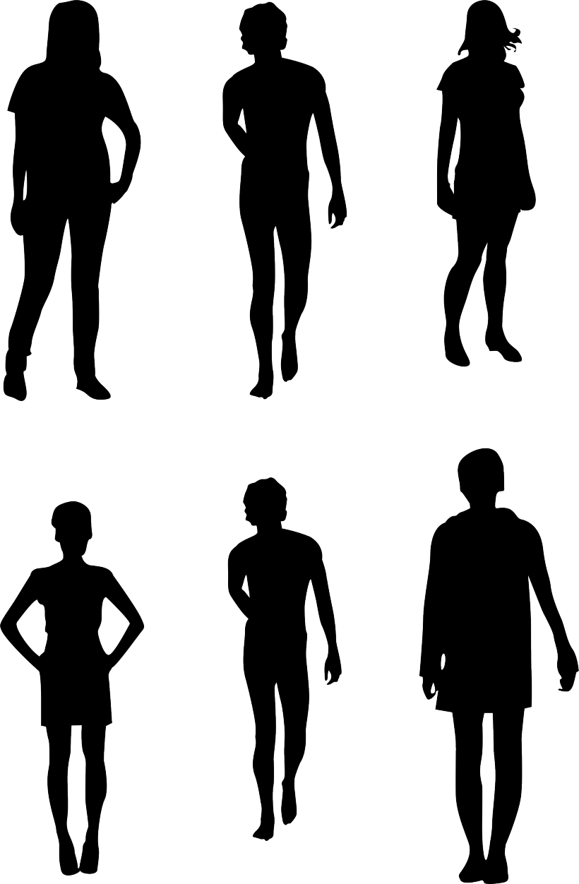 Silhouette Human Transparent Background Png Clipart Silhouette Illustration Human Clipart Baby Feet Art