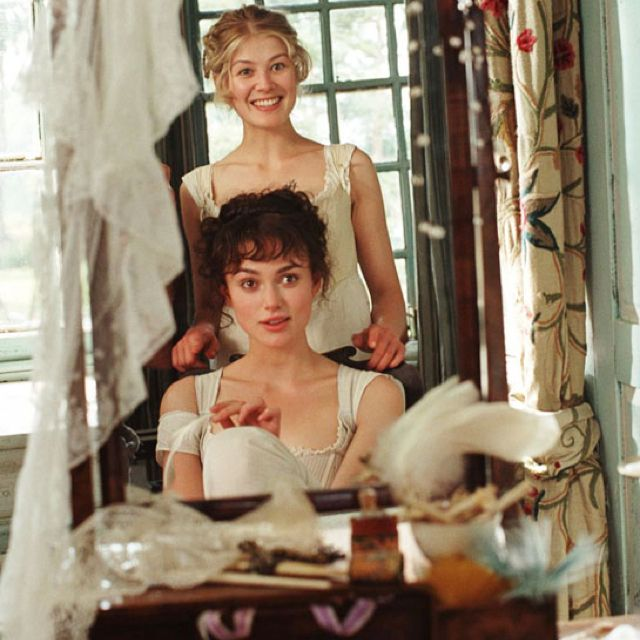 Jane And Elizabeth Bennet In Pride And Prejudice Orgulho E