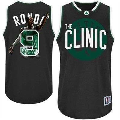 5d103868db3 Majestic Rajon Rondo Boston Celtics The Clinic Notorious Fashion ...
