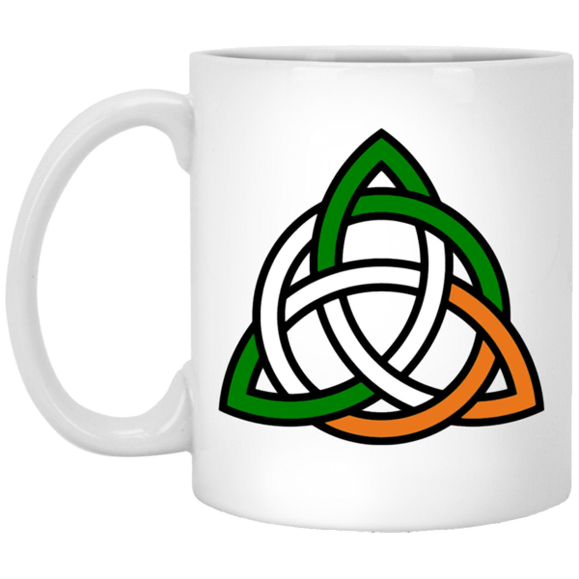 Celtic Knot Novelty Coffee Mug, Celtic Knot Pattern