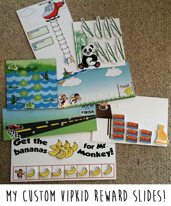 Vipkid Reward Slides Vip Kid Kids Rewards Classroom Rewards