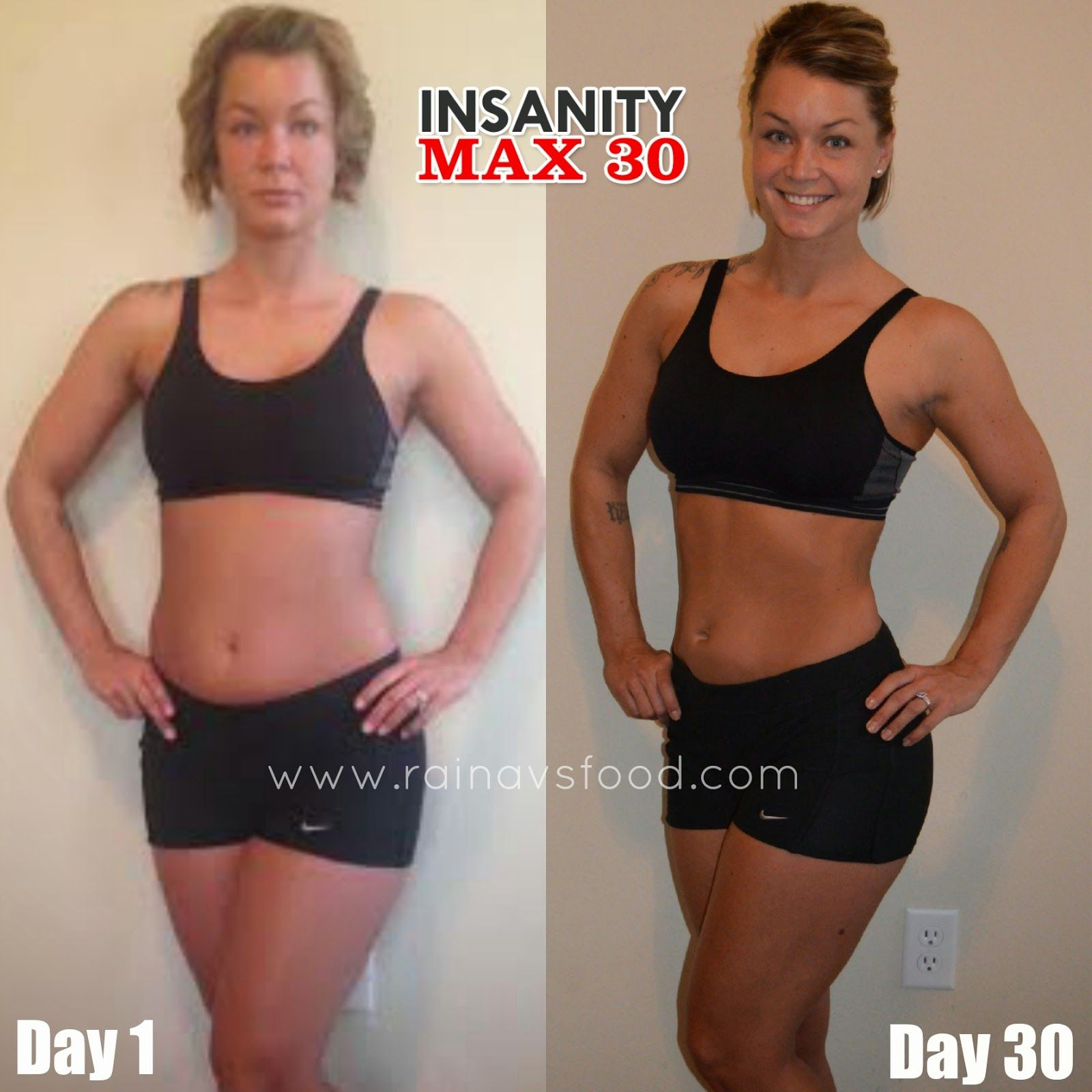 My Insanity Max:30 Results! You've GOT to try this program