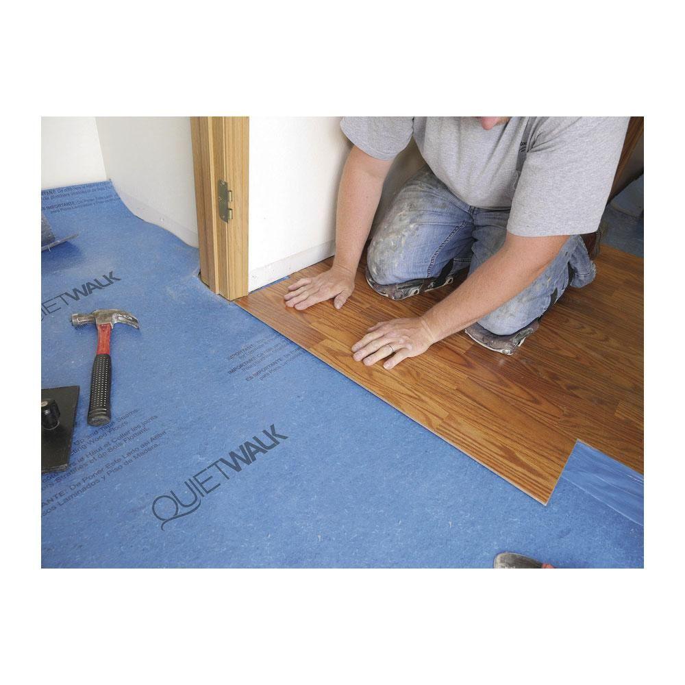 QuietWalk 100 sq. ft. 3 ft. x 33.3 ft. x 3 mm Underlayment