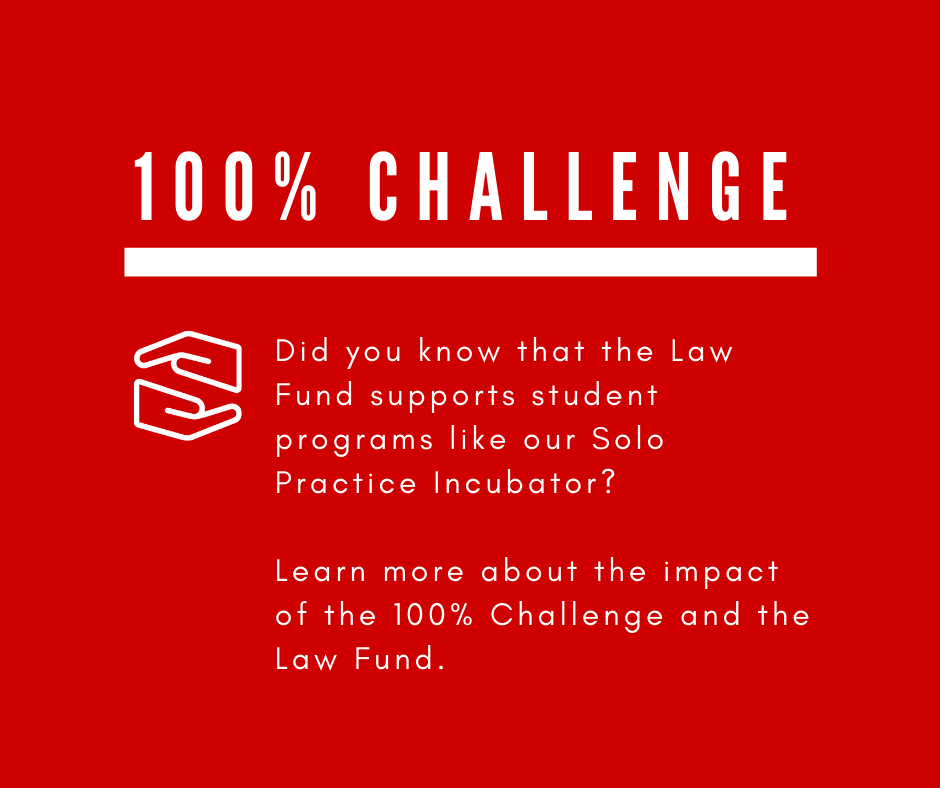 Did you know that the Law Fund supports student programs