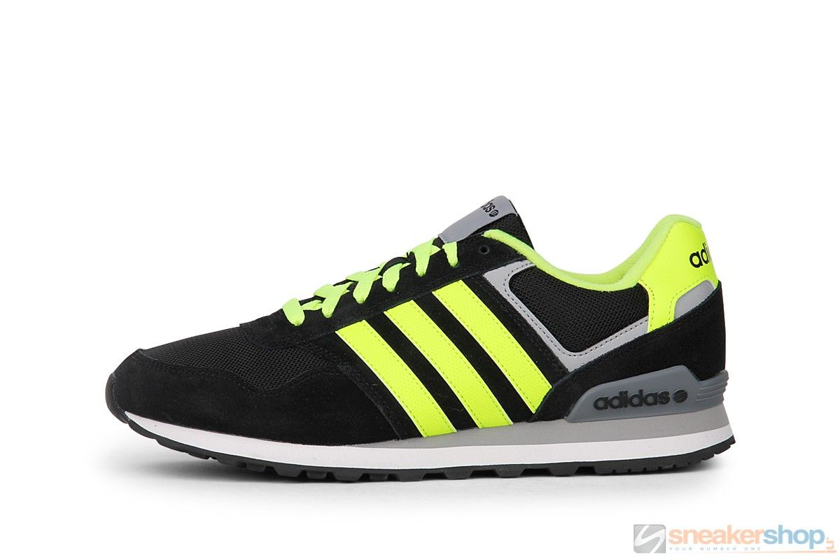 Adidas Runeo 10K (Black/Solar Yellow/Clear Onix) | F38493 ...