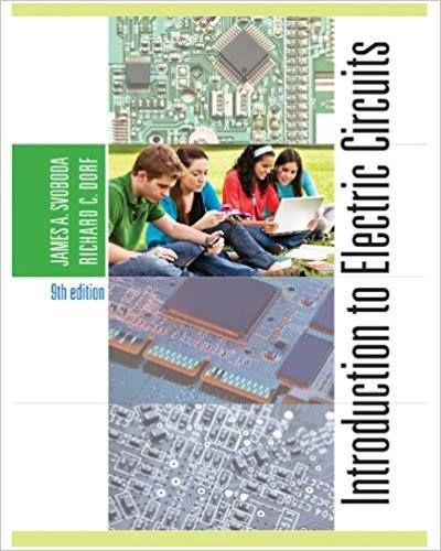 Introduction To Electric Circuits 9th Edition Svoboda Dorf Solution Manual If You Are Interested For It Just Contact Us Anytime For Contact Student P24 Hotm