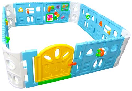 Baby Playpen with Door - Giant Size Interactive Playpen 1.6 x 1.6m ...