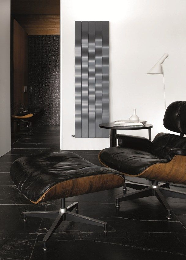 Wall Mounted Steel Decorative Radiator RIVER Fine Design Collection By  CALEIDO By Co. Ge
