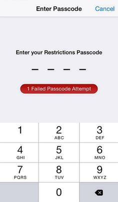 2 Simple Ways To Reset Restrictions Passcode On Iphone Iphone Information Iphone Codes Iphone