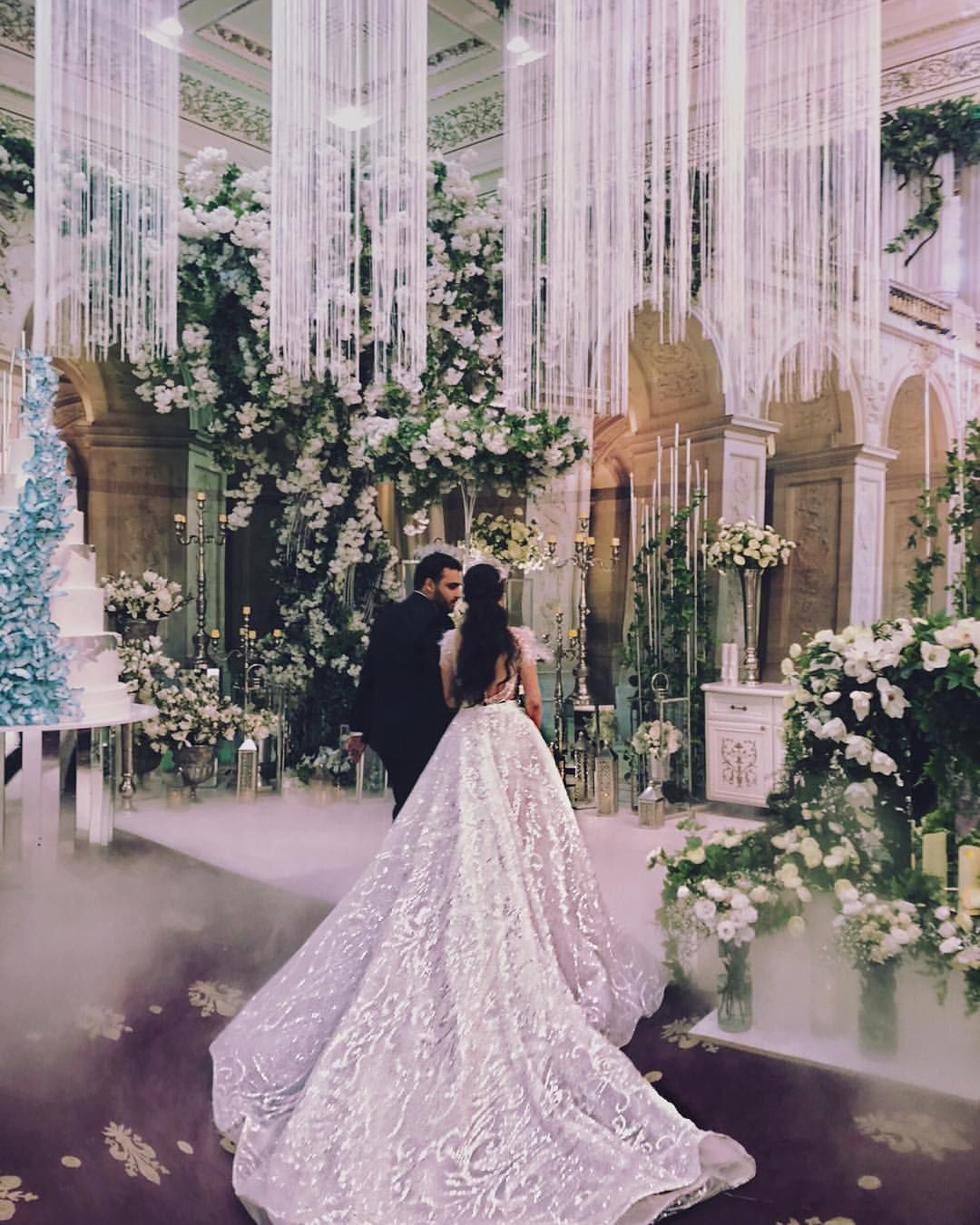 Luxury Wedding In Yerevan Fabulous Design Very Beautiful Hall And Amazing Bride Lusiart A In Our Dress This Dress Is A Transf Wedding Dresses Bride Wedding
